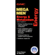 Mega Men Energy & Metabolism Dietary Supplement 60 Tablets