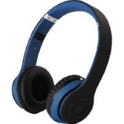 On Ear Bluetooth With Mic Headphones 2004 Blue