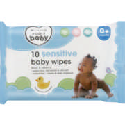 Sensitive Baby Wipes 10 Wipes