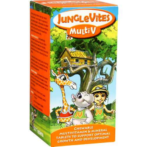 Multi V Strawberry Vanilla 60 Tablets
