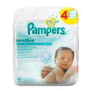 Sensitive Baby Wipes 4x 56 Wipes