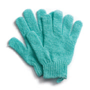 Nylon Bath Glove Aqua