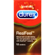 Real Feel Condoms 12 Pack