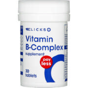 Pay Less Vitamin B Complex 30 Tablets
