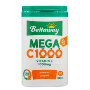 Betta Mega C 1000mg Tablets 60s