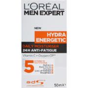 Men Expert Hydra Energetic Daily Moisturiser 50ml