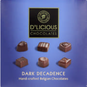 Dark Decadence Hand-Crafted Belgian Chocolates 70g