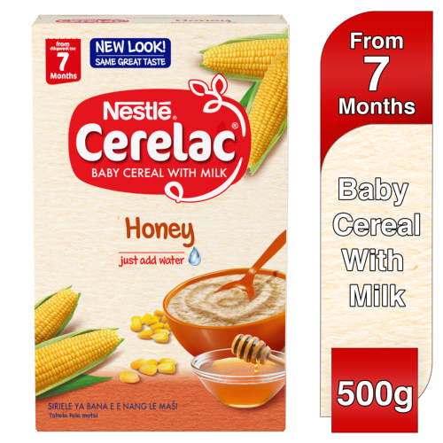 Cerelac Baby Cereal With Milk Honey From 7 Months 500g