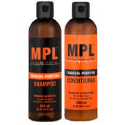 Shampoo & Conditioner Twin Pack Charcoal