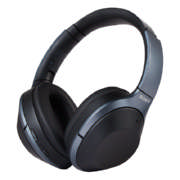 Wireless Bluetooth Noise Cancelling 40 Hours Headphones Grey