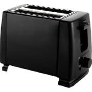 Pay Less 2-Slice Toaster Black