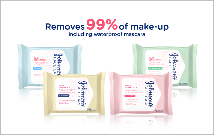 Shop our Facial Cleansing Wipes