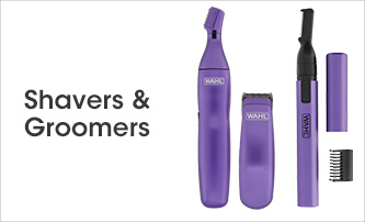 Shop Wahl Shavers & Groomers >